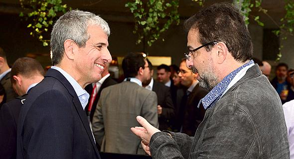 מימין: גיא למל, שותף מייסד ב־LV Holdings, ויובל כהן, שותף מייסד בפורטיסימו, צילום: אוראל כהן