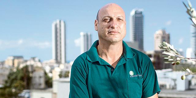 """איתמר בן דוד, ראש הוועדה מחוזית חיפה. """"הצפיפות בתוכנית נמוכה יחסית"""", צילום: תומי הרפז"""