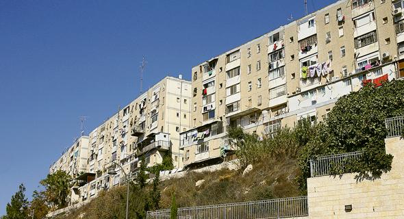 """פרוייקט תמ""""א 38 ברחוב הנוריות בירושלים, צילום: עמית שאבי"""