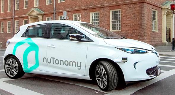 מכונית המבחן של נוטונומי