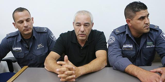 רונאל פישר בבית המשפט בחודש נובמבר האחרון, צילום: אלכס קולומויסקי