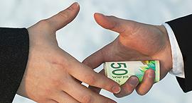 שוחד שחיתות הכספים הקואליציוניים