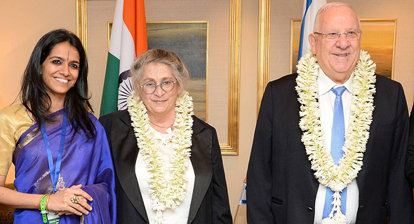 """ביקור הנשיא ראובן ריבלין ואישתו נחמה ריבלין ב הודו, צילום: מארק ניימן לע""""מ"""