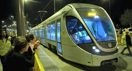 הרכבת הקלה בירושלים, צילום: עטא עוויסאת