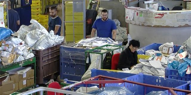 חגי נובמבר הנחיתו בדואר ישראל כ-300 טונות חבילות בשבוע