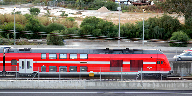 Train in Israel (illustration). Photo: Eran Granot