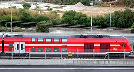 רכבת ישראל, צילום: ערן גרנות