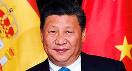 שי ג'ינפינג נשיא סין, צילום: איי אף פי