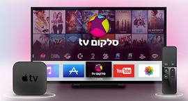 סלקום טי וי השקת אפליקציית סלקום TV באפל TV