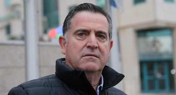 """רביב ברוקמאייר מנכ""""ל מגה מחוץ ל דיון  בבית משפט מחוזי לוד, צילום: נמרוד גליקמן"""