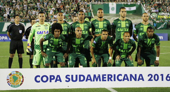 שחקני קבוצת הכדורגל שאפקואנסה שהיו על המטוס