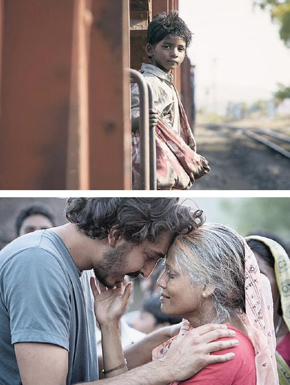 """מתוך הסרט """"סארו - הדרך הביתה"""". זיהה את אמו על אף שעברו 25 שנה"""