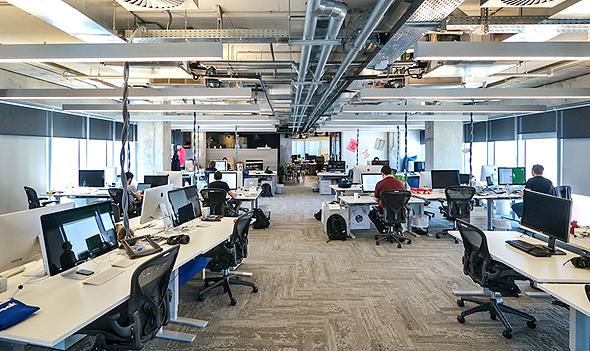 משרדי פייסבוק בתל אביב, בלי מחיצות