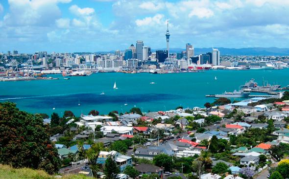 אוקלנד, ניו זילנד. במקום השמיני, צילום: spwise.com
