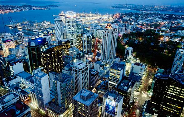 אוקלנד ניו זילנד , צילום: שאטרסטוק