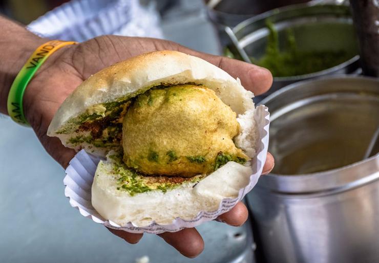 אוכל רחוב במומביי, צילום: שאטרסטוק