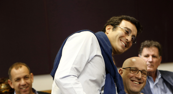 טריק פריינטה ניר שטרן מנכל סלקום מיכאל גולן דיון ב פירוק גולן טלקום, צילום: עמית שעל