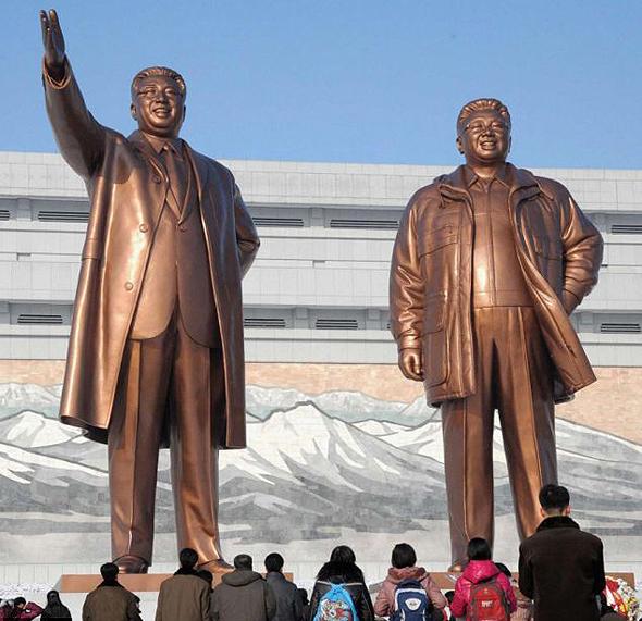 צפון קוריאה. הטאבלט לא מיועד לאזרחים מן השורה, צילום: רויטרס