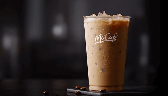 אייס מק'קפה ב מקדונלדס