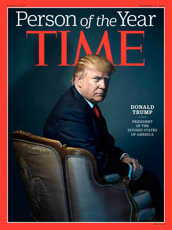 טראמפ במגזין טיים