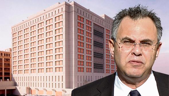 קובי אלכסנדר מתקן מעצר ב ברוקלין, צילום: בלומברג