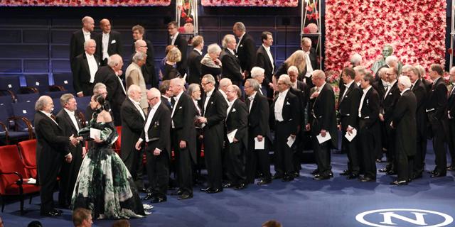 טקס הענקת פרס נובל, היום, צילום: איי אף פי