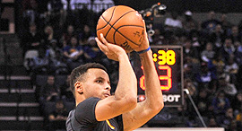 Golden State Warriors player Stephen Curry