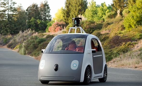 מכונית גוגל רכב אוטונומי מכונית חכמה Google