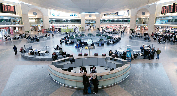 Ben Gurion airport. Photo: Shutterstock