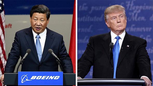 """מימין נשיא ארה""""ב דונלד טראמפ ונשיא סין שי ג'ינפינג, צילום: גטי אימג'ס"""