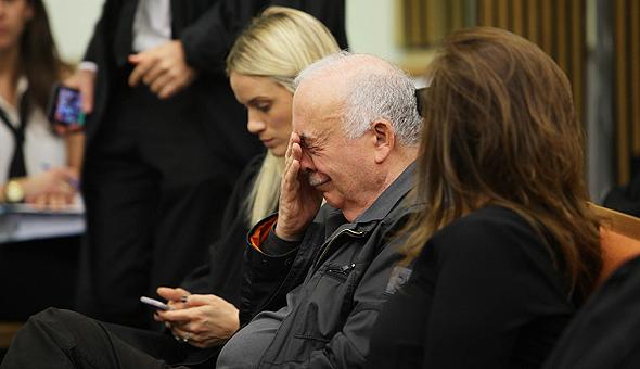אליעזר פישמן בבית משפט ה מחוזי, צילום: אוראל כהן