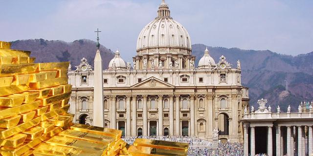 הכס(ף) הקדוש: מהארנק הריק של ישו להון העתק של הכנסייה הקתולית
