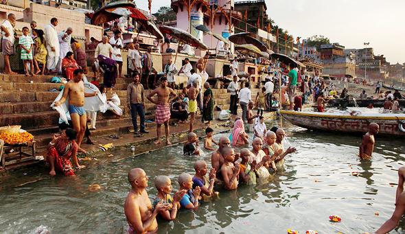 היעד הבא של גוגל: הודו הכפרית, צילום: איי פי