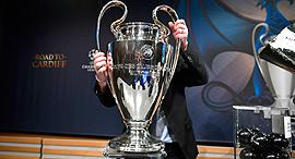 ליגת האלופות גביע ליגת האלופות, צילום: איי אף פי