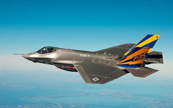 F 35 של לוקהיד מרטין , צילום: U.S. Navy