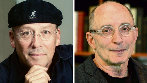 מימין: פרופ' רון רובין ומולי אדן. יובילו את אוניברסיטת חיפה