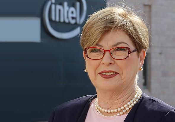 """מנכ""""לית אינטל ישראל לשעבר, מקסין פסברג"""