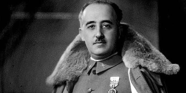 הדיקטטור פרנקו, צילום: גטי אימג