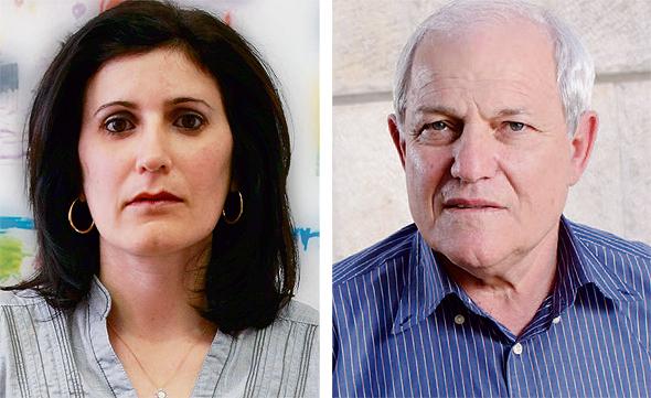 מימין חיים כץ ו אלין אלול, צילומים: עמית שעל, שאול גולן
