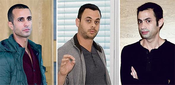 מימין: גד אוסופסקי, ערן גרינפלד וגיא בן דוד, צילומים: אוראל כהן
