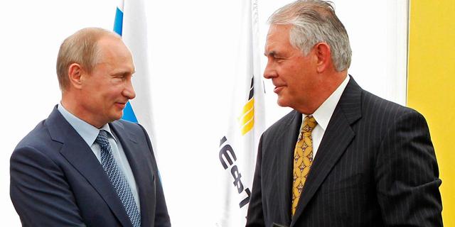 """טילרסון במוסקבה: """"יחסי ארה""""ב-רוסיה בשפל, וכך גם האמון"""""""