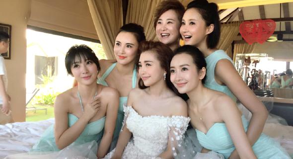 שושבינות בחתונה, צילום: onehallyu