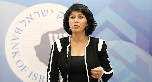 חדוה בר, המפקחת על הבנקים בבנק ישראל , צילום: עמית שאבי