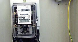 שעון חשמל חברת החשמל שעון חשמל דירתי, צילום: מאיר פרטוש