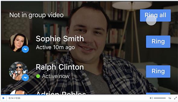 """וידאו מסנג'ר פייסבוק צ'ט, צילום: יח""""צ"""