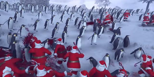 המלחמה הקרה: כשסנטה מתעצבן