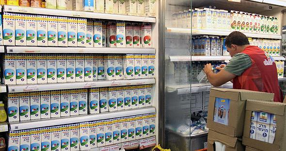 מקרר חלב של תנובה