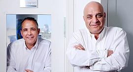 שאול נאוי (מימין) ודורי נאוי, צילום: עמית שעל