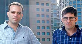 מימין איתן קורן ו טל גרינוולד טננגרופ חדש, צילום: עמית שעל
