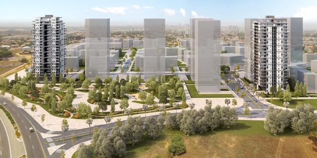אזורים תבנה 180 דירות להשכרה ארוכת טווח בראשון לציון